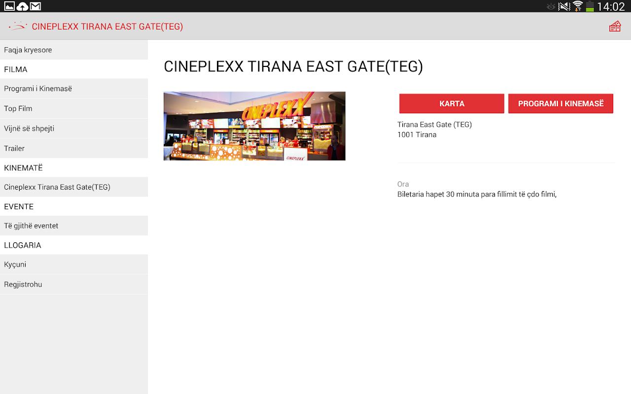 Cineplexx Shqipëria 3.9.3 Screen 10