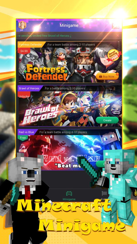 Multiplayer for Minecraft PE - MCPE Servers 1.2.102 Screen 2