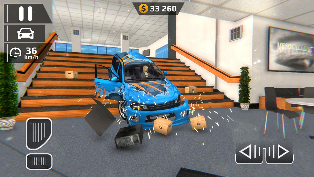 Android Smash Car Hit - Impossible Stunt Screen 4