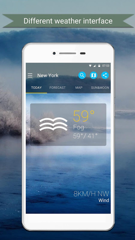 Android Weather Screen 4