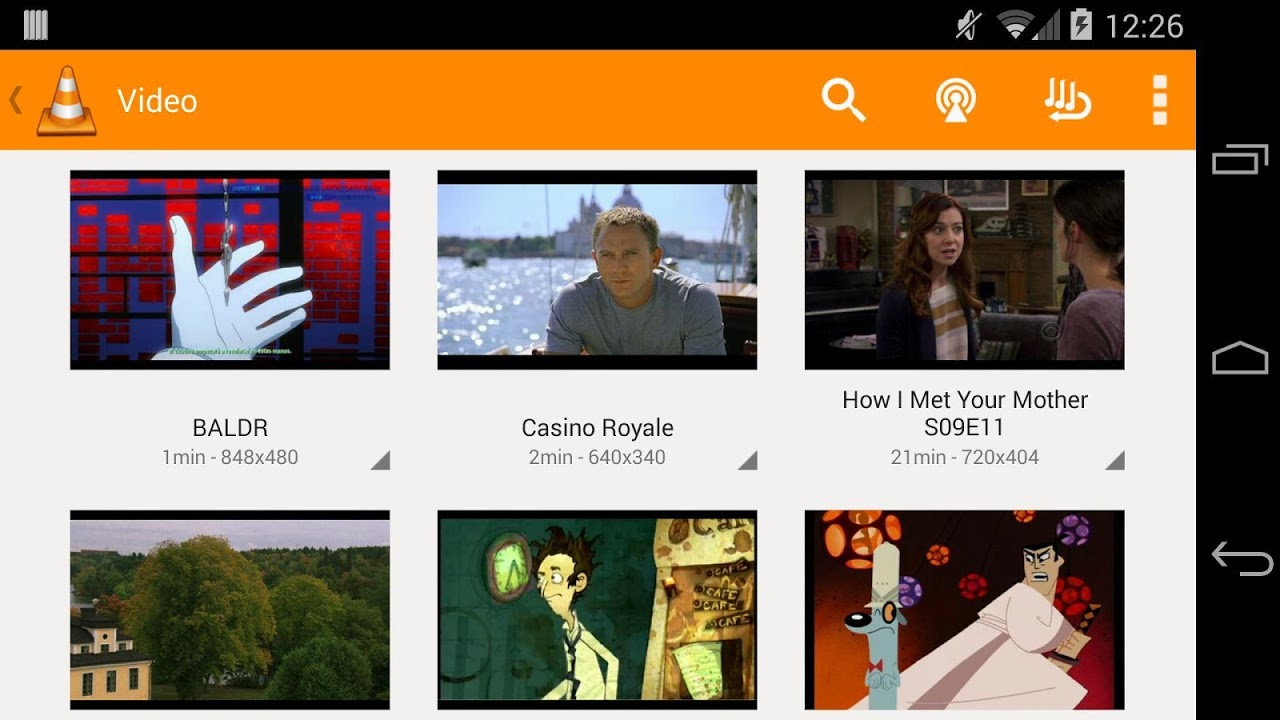 Android VLC for Android Beta Screen 8