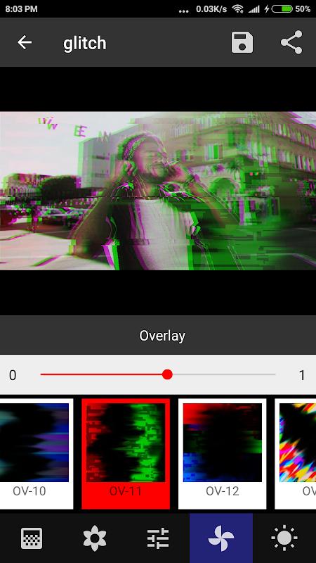 Onetap Glitch - Photo Editor 2.0.7 Screen 2