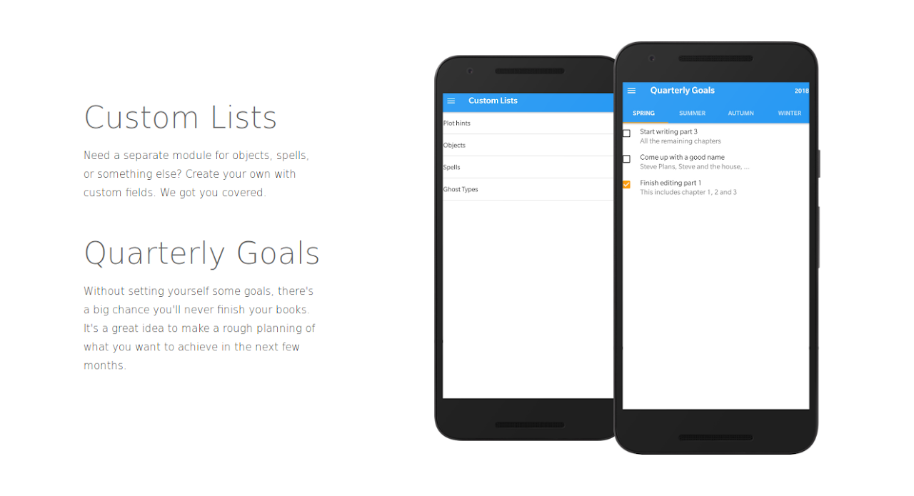 Writer Tools - Novel Planner, Tracker & Editor 2.8.1 Screen 5