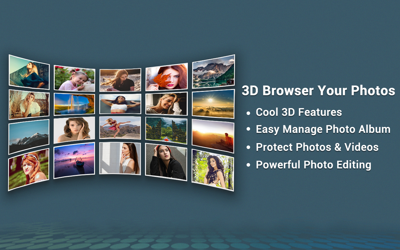 Photo Gallery 3D & HD 1.5.9 Screen 12