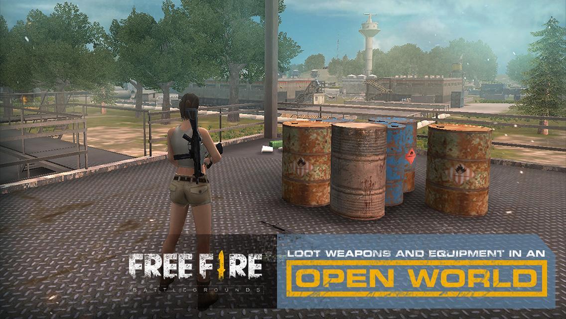 Free Fire - Battlegrounds 1.6.6 Screen 2
