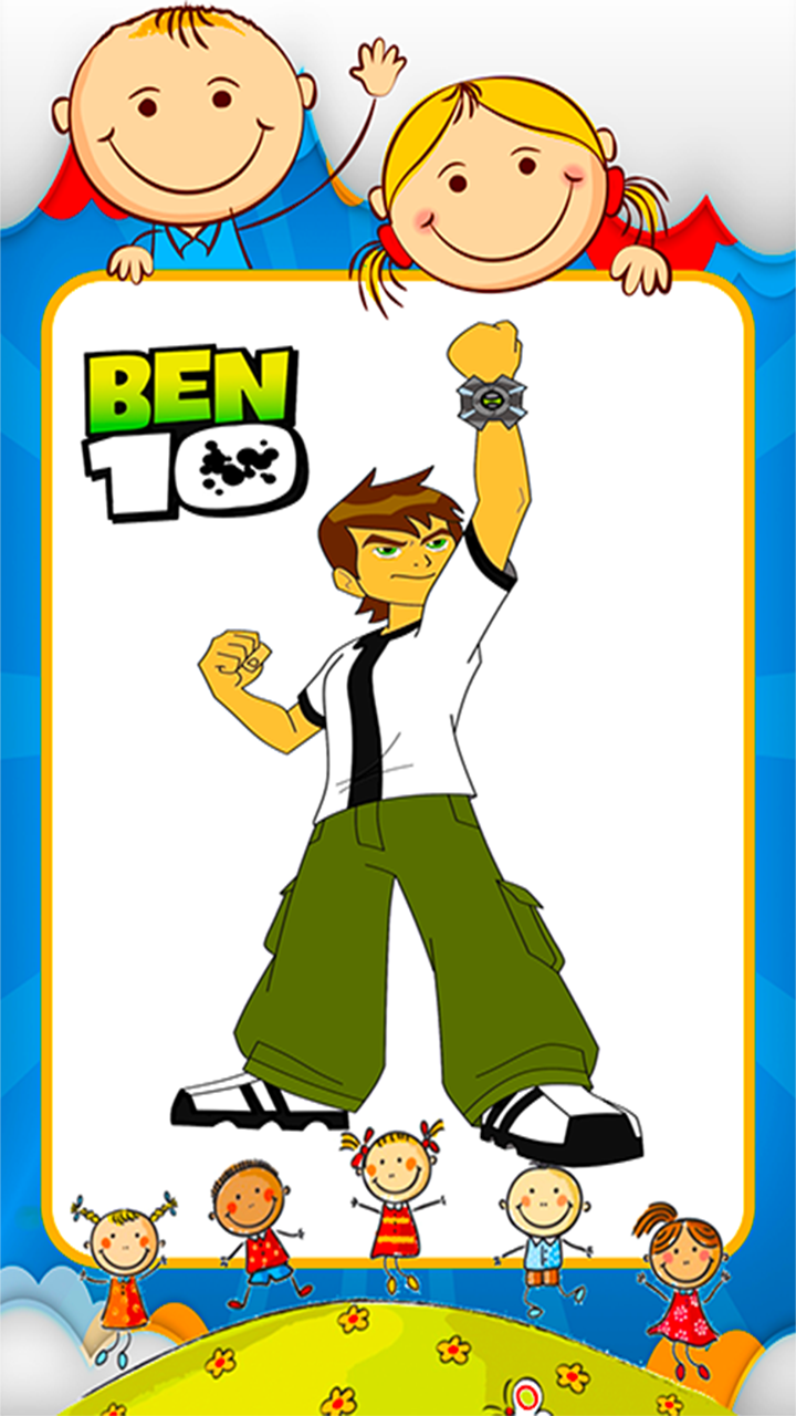 Android Coloring Ben 10 Games Screen 2