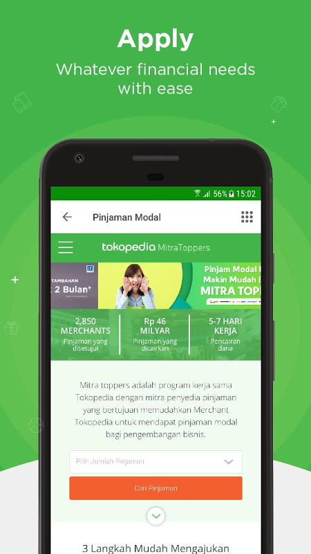 Android Tokopedia - Online Shopping & Mobile Recharge Screen 4