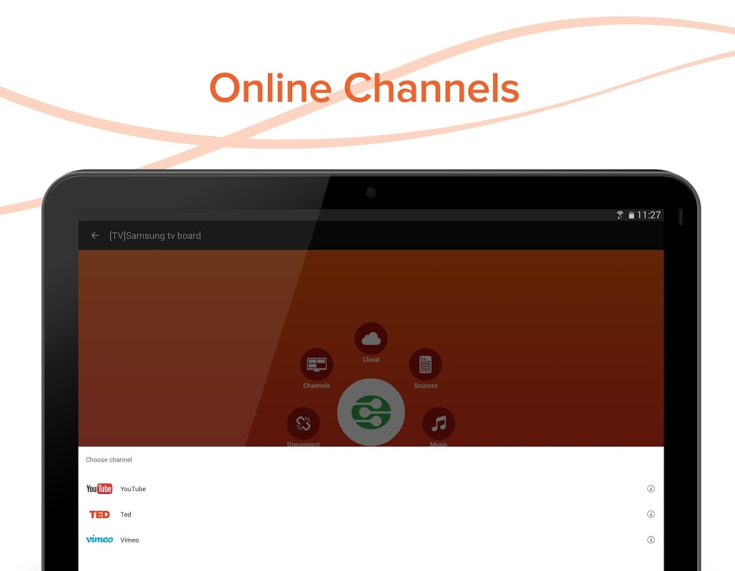 Android AllConnect - Play & Stream Screen 7