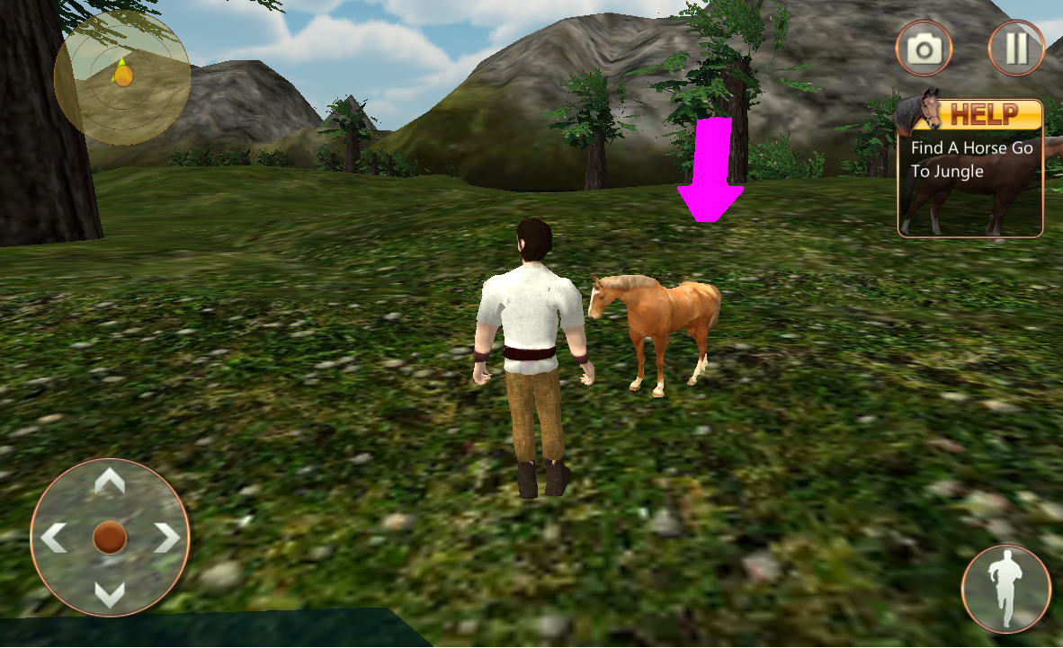 Android Life of Horse - Wild Simulator Screen 6