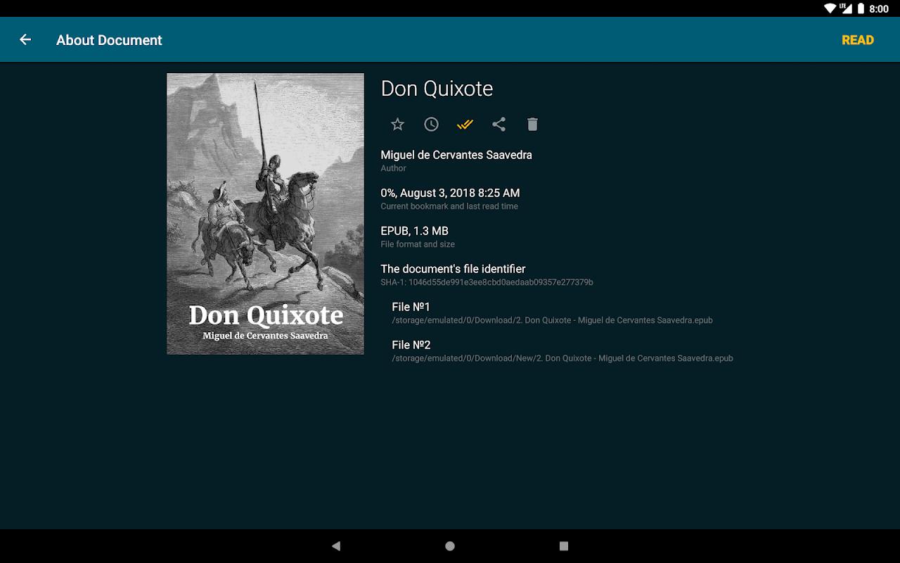 ReadEra - epub, pdf, docx ebook reader 19.01.10+730 Screen 10