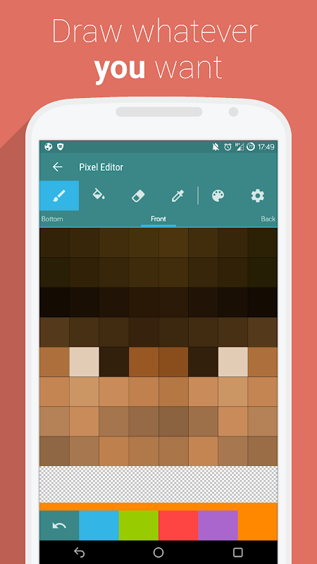 Android UTK.io for Minecraft PE Screen 3