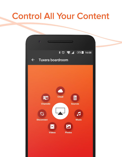 Android AllConnect - Play & Stream Screen 1