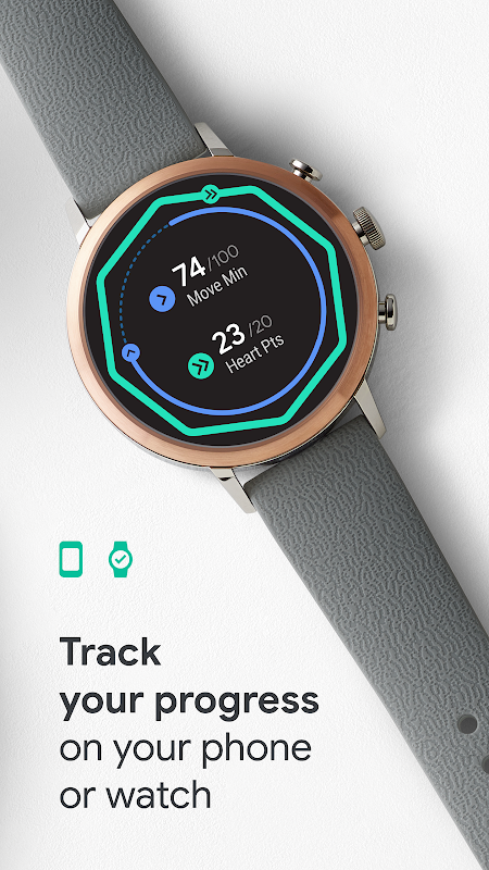 Android Google Fit: Health and Activity Tracking Screen 4