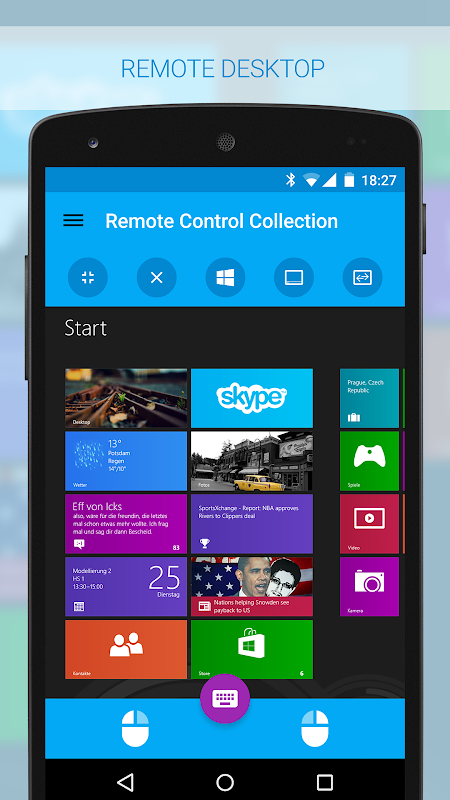 Android Remote Control Collection Screen 5