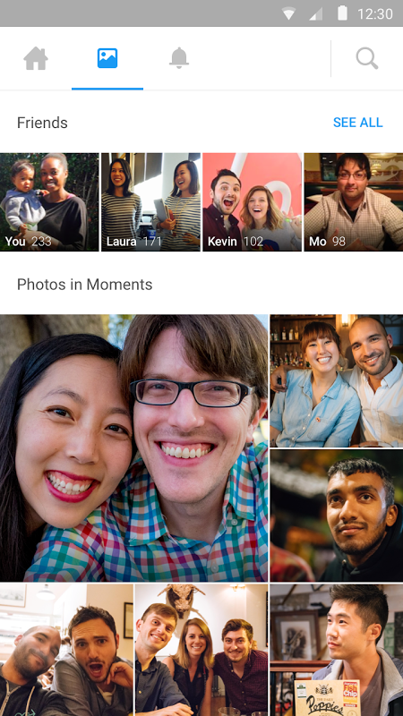 Android Moments Screen 3