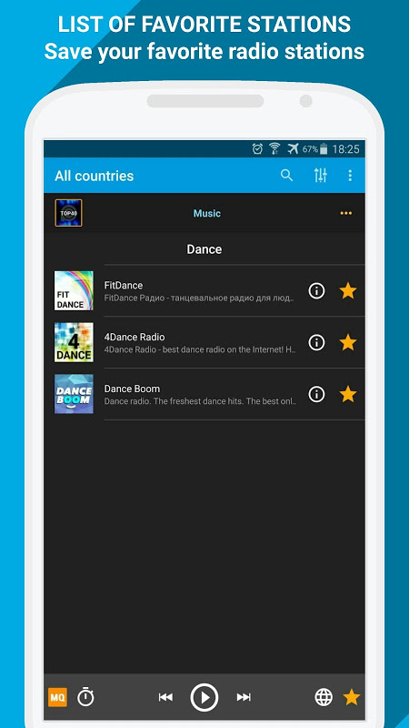 Radio Online - PCRADIO 2.4.8.0 Screen 5