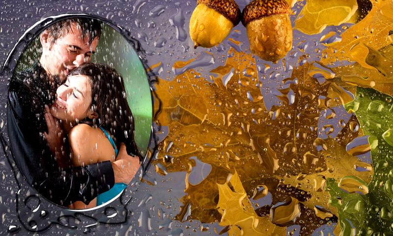 Android Rain Photo Frames Screen 4