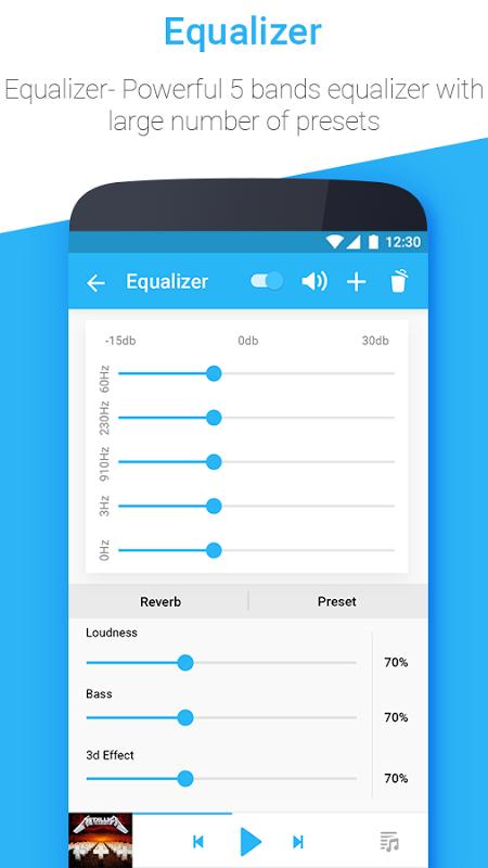 Android Muziko Music Player & Tag Edit Screen 5