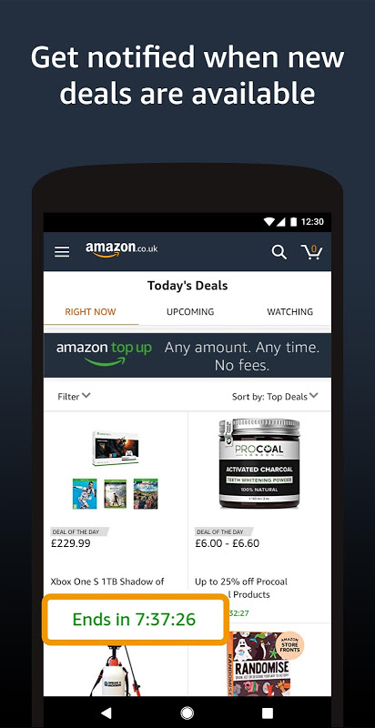 Amazon Shopping 18.14.0.100 Screen 2