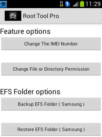 Android Root Tools Screen 3