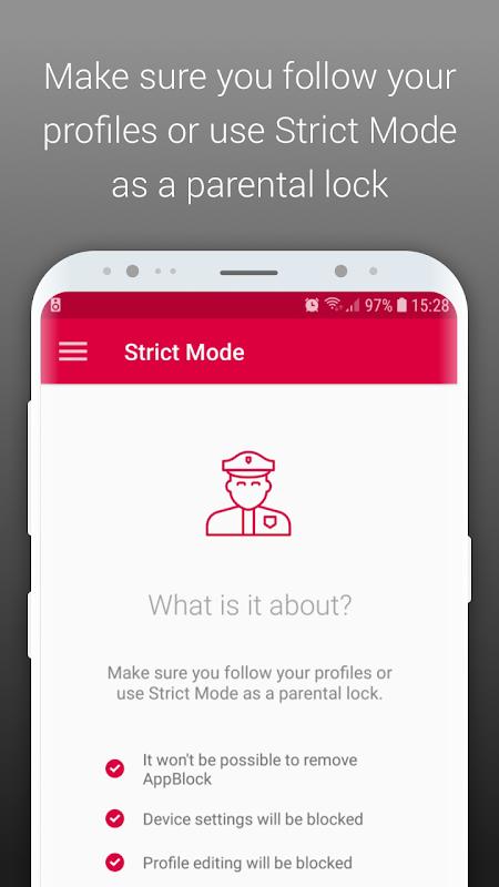 AppBlock - Stay Focused 2.2.1 Screen 6