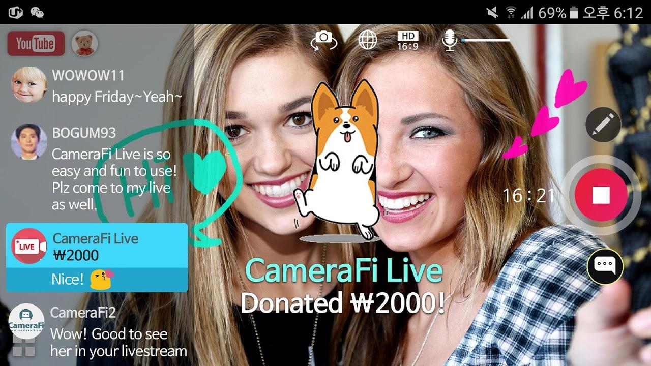 CameraFi Live 1.9.33.0928 Screen 11