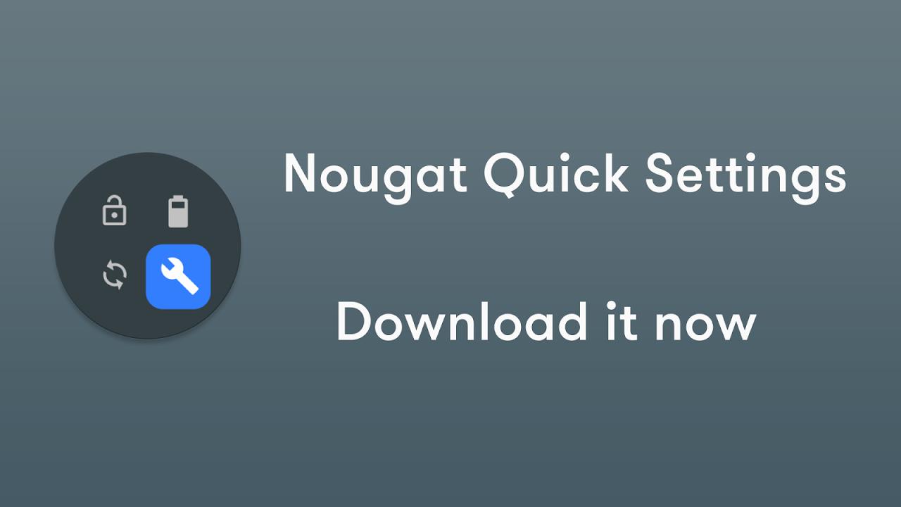 Nougat / Oreo Quick Settings 5.5 Screen 4