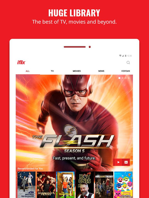 Android iflix Screen 9