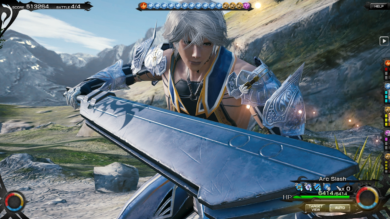 Android MOBIUS FINAL  FANTASY Screen 9