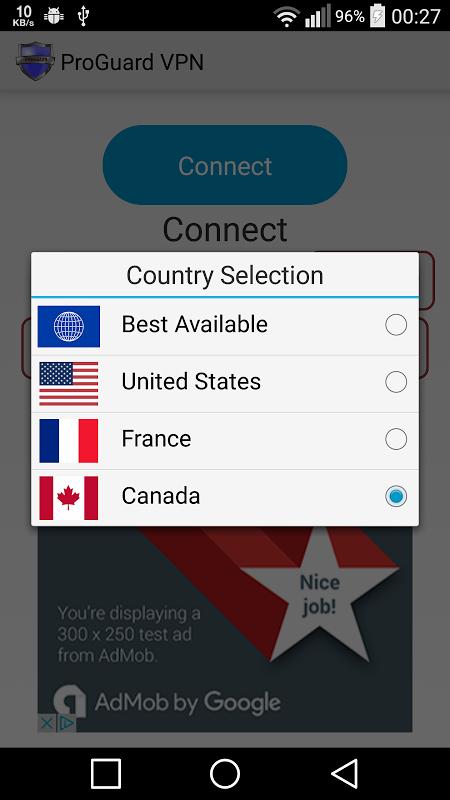 ProGuard VPN Secure WiFi 1.6.4 Screen 3