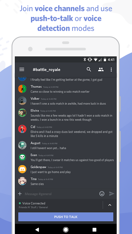 Discord - Chat for Gamers 7.6.8 Screen 2