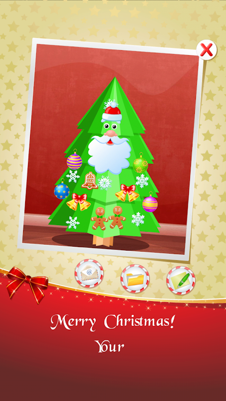 123 Kids Fun CHRISTMAS TREE 1.38c Screen 4