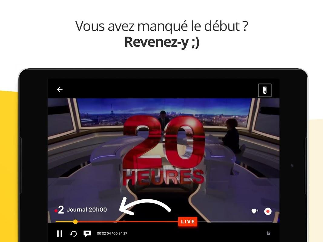 Molotov - TV en direct et en replay 3.2.1 Screen 8