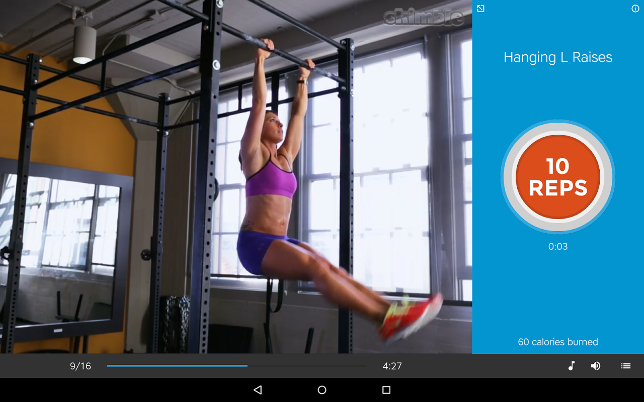 Android Workout Trainer: fitness coach Screen 1