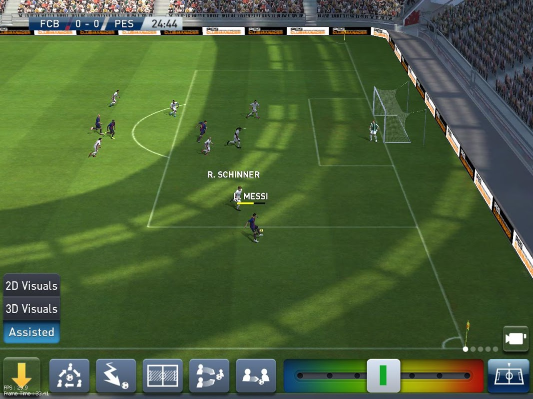 PES CLUB MANAGER 2.0.4 Screen 11
