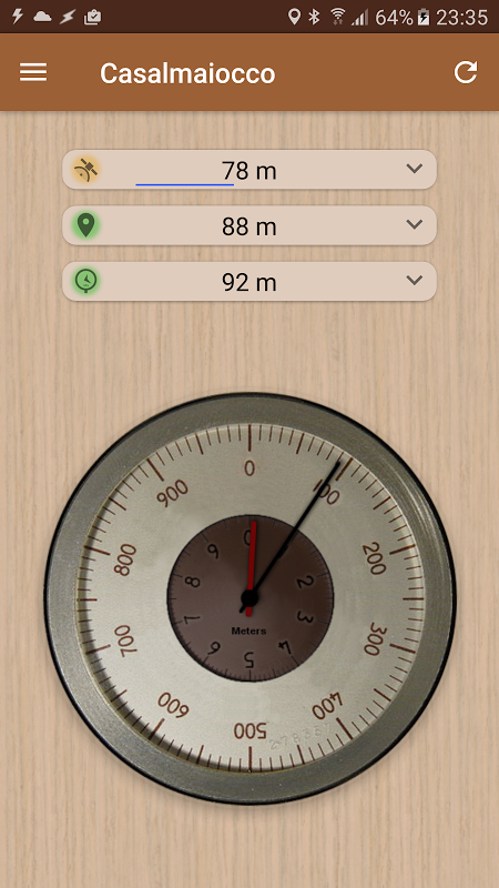 Accurate Altimeter PRO 2.0.7 beta Screen 2