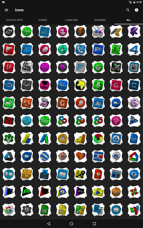 Android Stacks Icon Pack v4.2 Screen 15