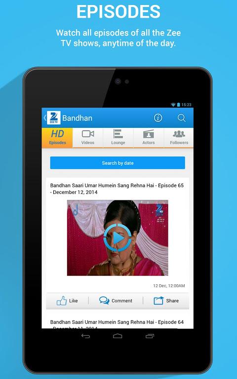 Ozee 11 0 4 APK Download by Zee Entertainment Enterprises