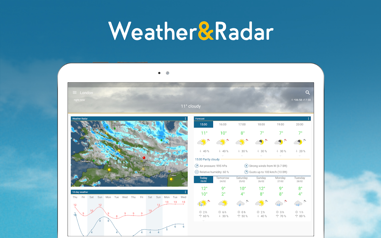 Weather & Radar UK 4.41.2 Screen 6