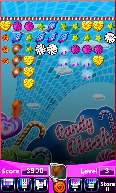 Android Candy Clash Screen 2