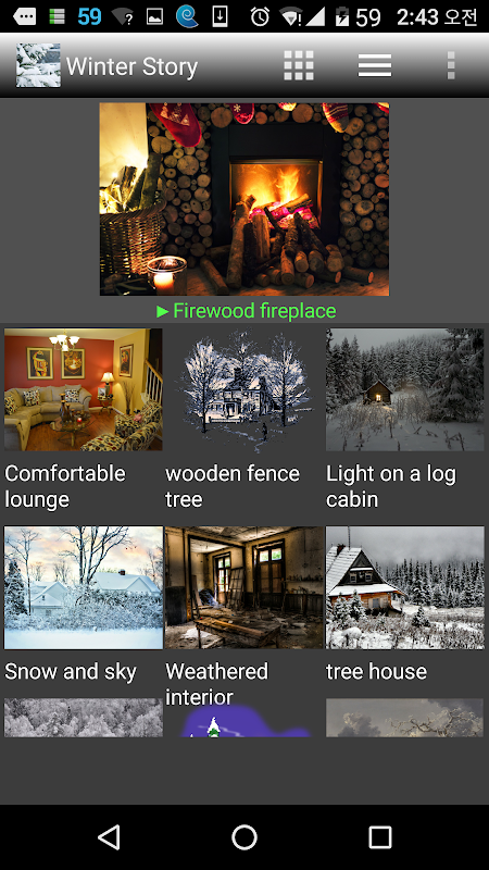 Android Winter Story Pro Screen 2