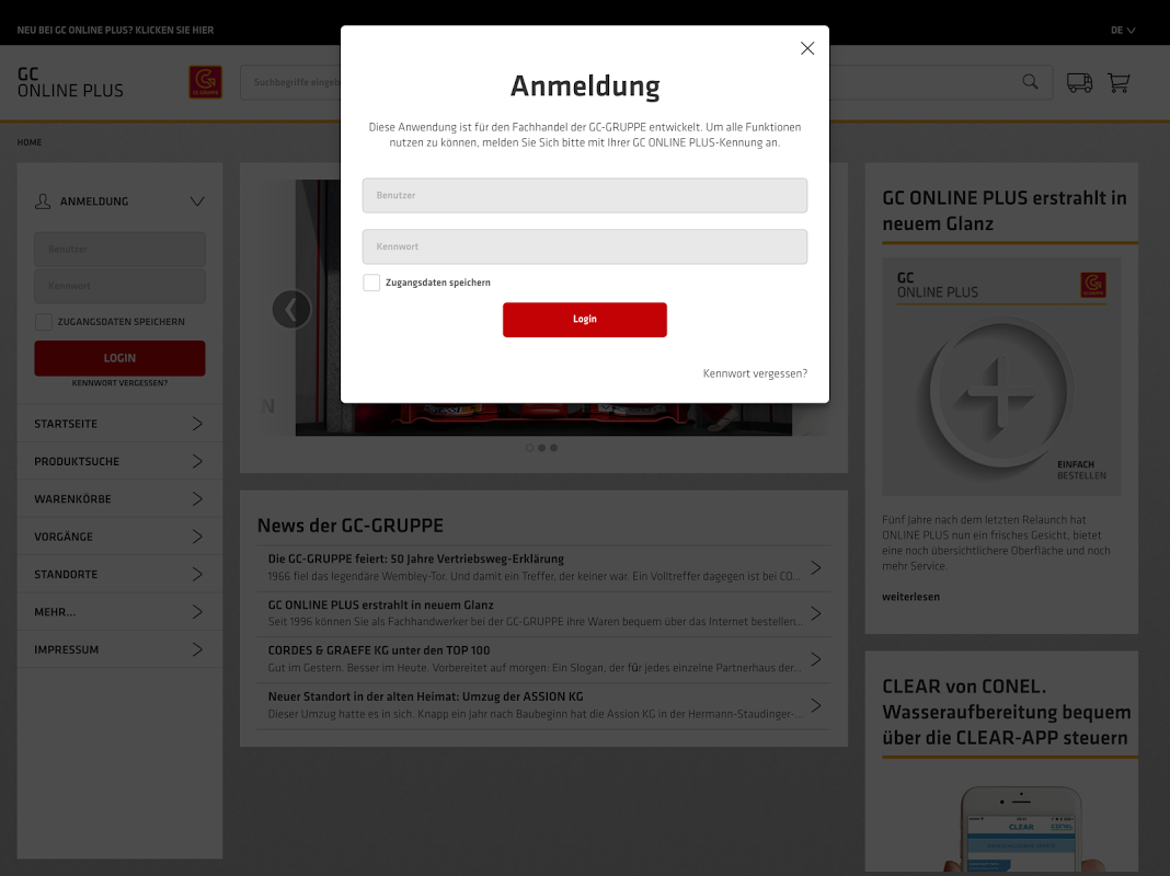 de.onlineplus.mobile.gc 4.0.0 Screen 5