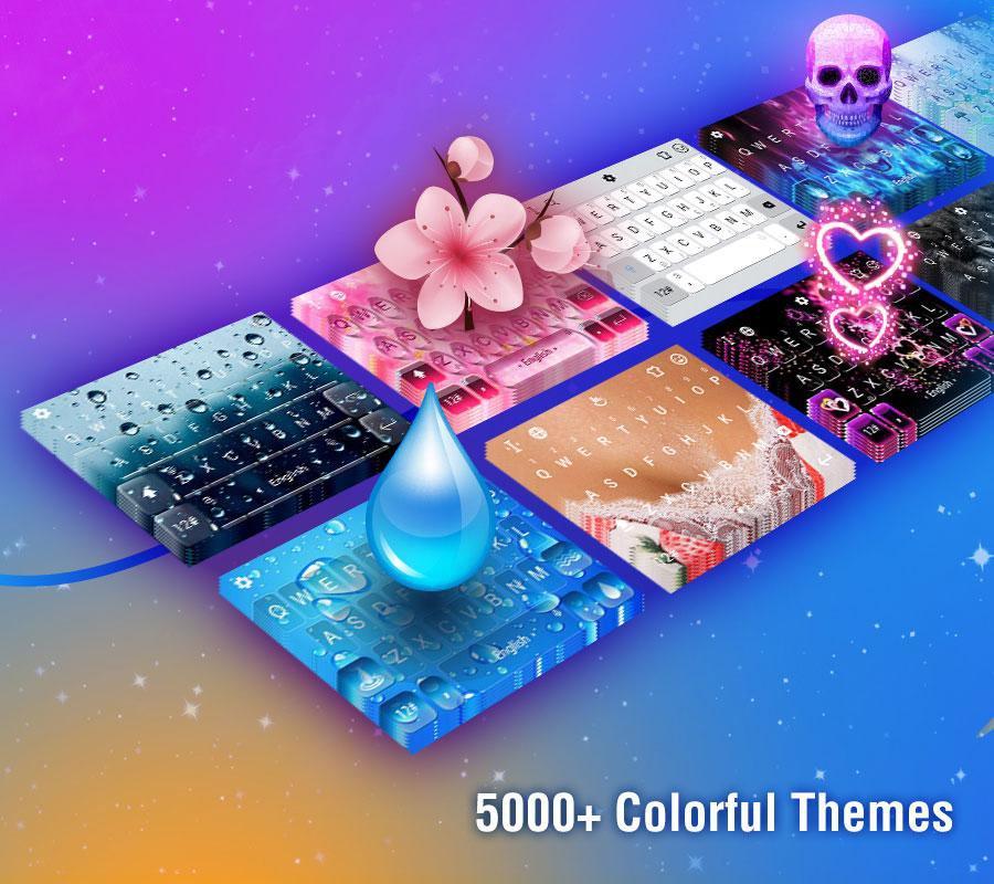 TouchPal Emoji Keyboard 6.6.7.6 Screen 1