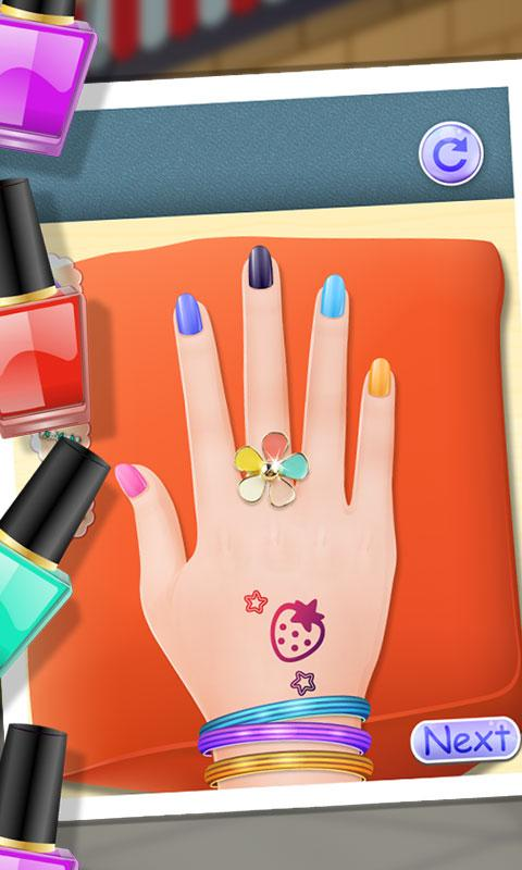Android Nail Makeover - Girls Games Screen 1