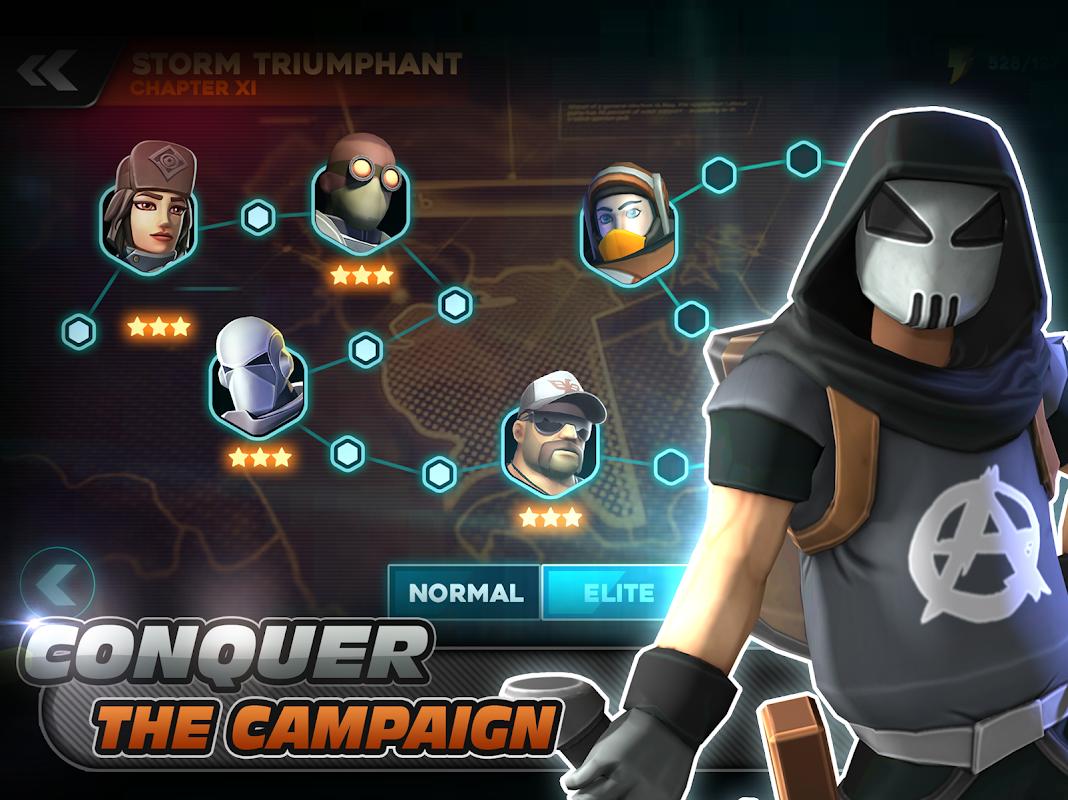 Alpha Squad 5: RPG & PvP Online Battle Arena 1.5.51 Screen 5