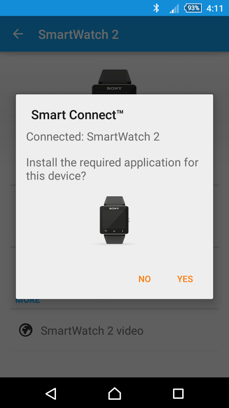 Android Smart Connect Screen 3