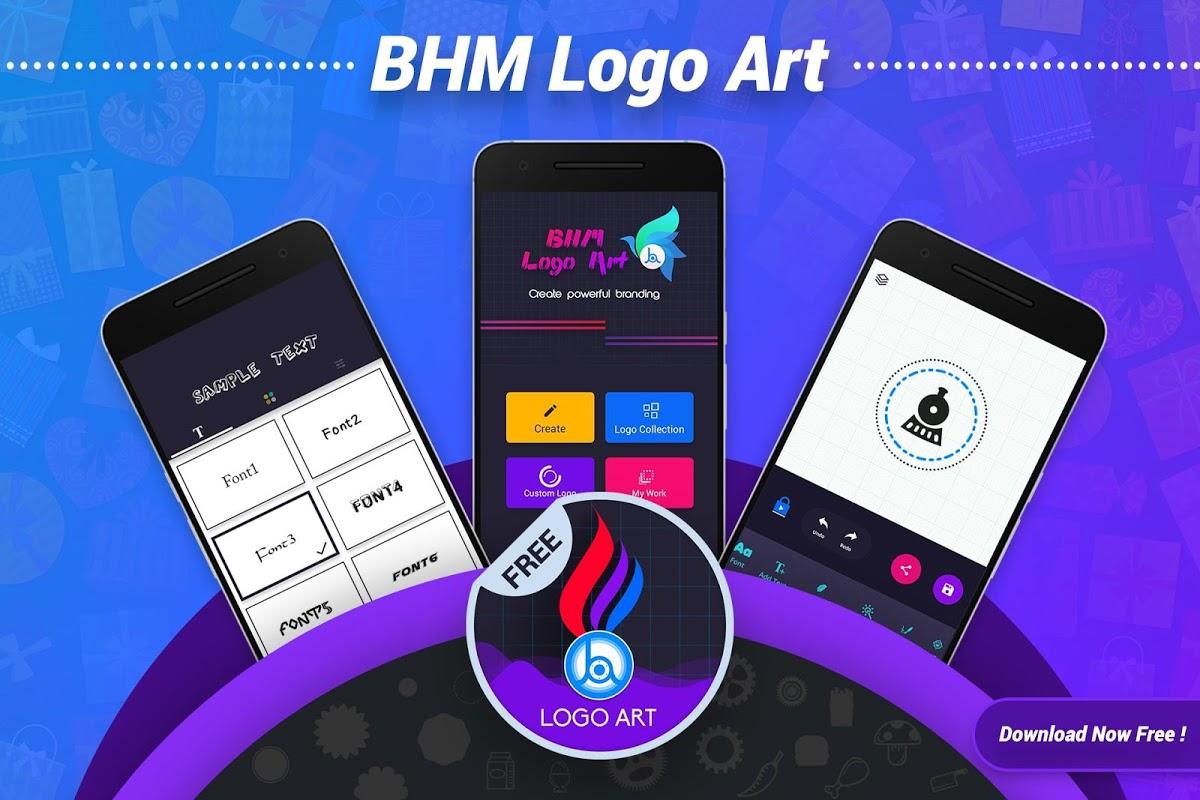 Android Logo Maker & Logo Design Generator Screen 1