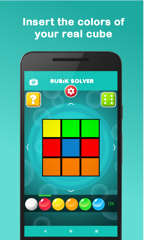 RubikSolver 6.2.1 Screen 2