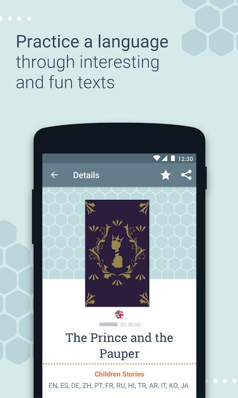 Beelinguapp: Learn a New Language with Audio Books 2.294 Screen 2
