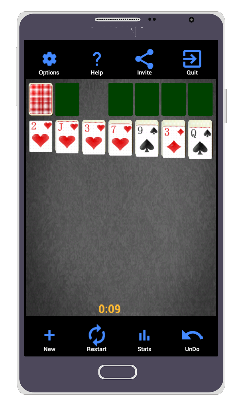 Solitaire 5.1.1 Screen 1